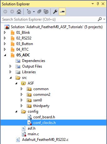DIT: Electronics - Adafruit FeatherM0 ASF Tutorials - 05