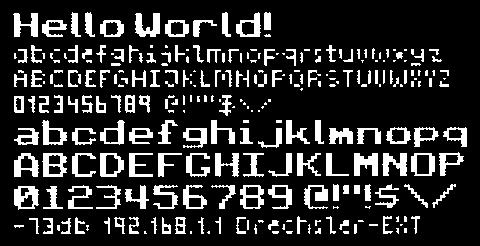 DIT: Electronics - Adafruit FeatherM0 - 08 SSD1306 128x64 OLED
