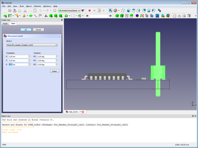 DIT: Useful Stuff - From KiCAD to CAD using FreeCAD-PCB